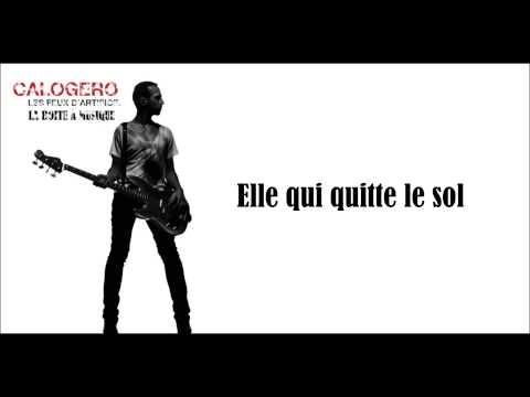 Calogero La Boite À Musique Paroles