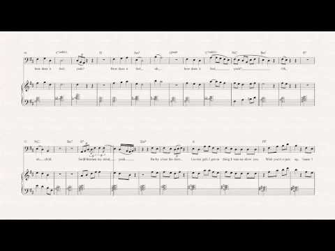 Bass - Untitled (How Does it Feel) - D'Angelo Sheet Music, Chords, & Vocals