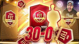 OMG INSANE 30-0 TOP 100 FUT CHAMPIONS REWARDS + 5 RED PLAYER PICK PACKS!! FIFA 19 Ultimate Team