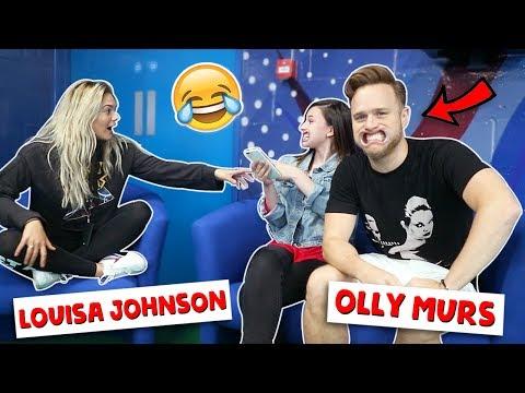 MOUTHGUARD CHALLENGE ft. Olly Murs & Louisa Johnson