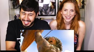 MOANA Trailer Reaction Discussion by Jaby Koay & Bre Mueck!