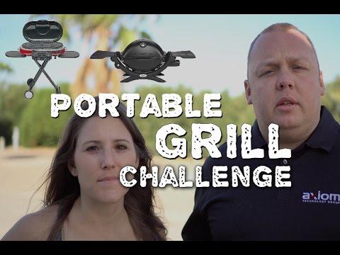 Portable Grill Challenge - Coleman Roadtrip v s Weber Q1200