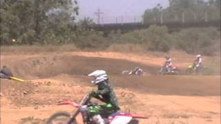 Travis drops it at MMX track Marysville