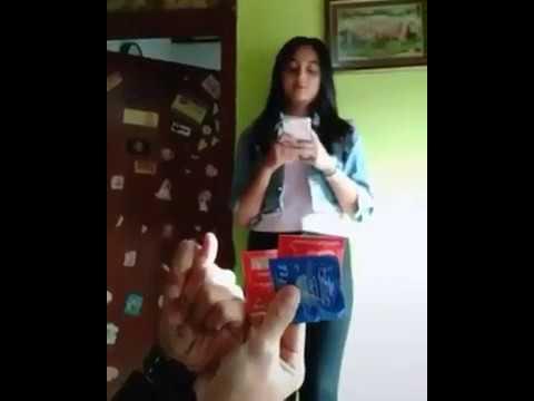 Parodi count on me challenge pakai kondom dan gituan hahaha