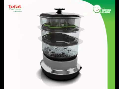 tefal vitacuisine compact youtube. Black Bedroom Furniture Sets. Home Design Ideas