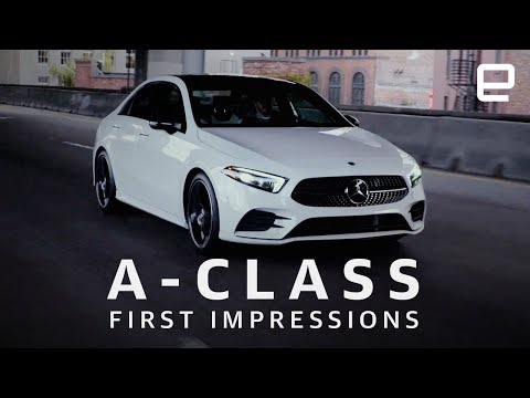 Mercedes A-Class Sedan First Impressions