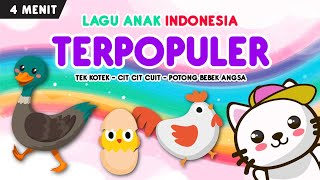 Download lagu kompilasi lagu anak terpopuler part 1 | tek kotek, potong bebek angsa, cit cit cuit bebek berenang