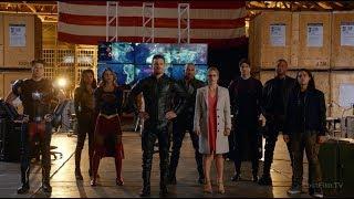 Команда Вселенной Стрелы Спасает Барри | Легенды Завтрашнего Дня (2 сезон 8 серия)
