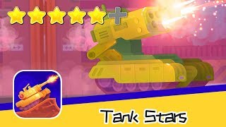 Tank Stars - Playgendary - Day58 Walkthrough Buratino 1V6 Recommend index five stars