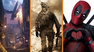 New Battlefield V Teaser + Modern Warfare 4 Leaked + Deadpool 2 Dethrones Infinity War