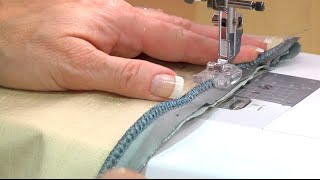 How to Attach Piping with the Pearl & Piping Foot