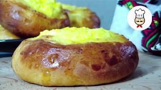 Домашние булочки в духовке / Ватрушки с творогом простой рецепт - Волшебная еда выпечка