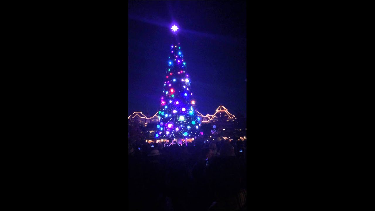 Illumination sapin disneyland paris 2014 youtube - Illumination paris 2014 ...