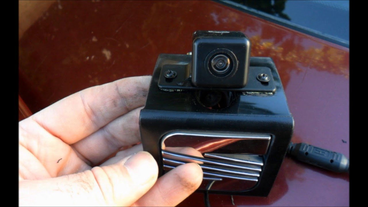 Installing Rear Camera   Lcd Mirror   Electromagnetic