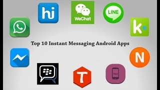 Top 10 Free messenger apps and chat apps for Android | Best Communication app for android 2018