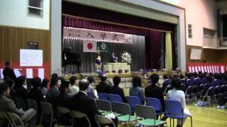 Repeat youtube video 中学校入学式来賓祝辞 不登校撲滅の謎かけを贈る