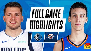 Game Recap: Mavericks 127, Thunder 106