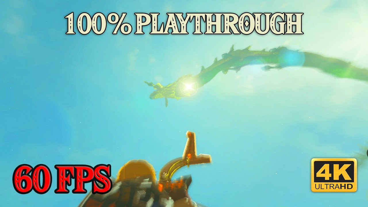Zelda Breath of the Wild - 100% Playthrough [4K 60FPS CEMU] Part 27 ~ Very Cool