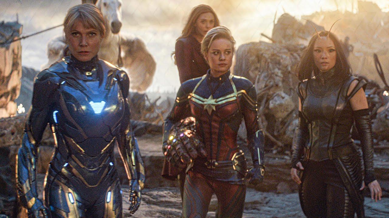 Download Female Avengers Unite Scene - AVENGERS 4: ENDGAME (2019) Movie Clip