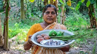 Fish, Drumstick, Eggplant & Potatoes Curry Cooking Recipe by Village Food Life