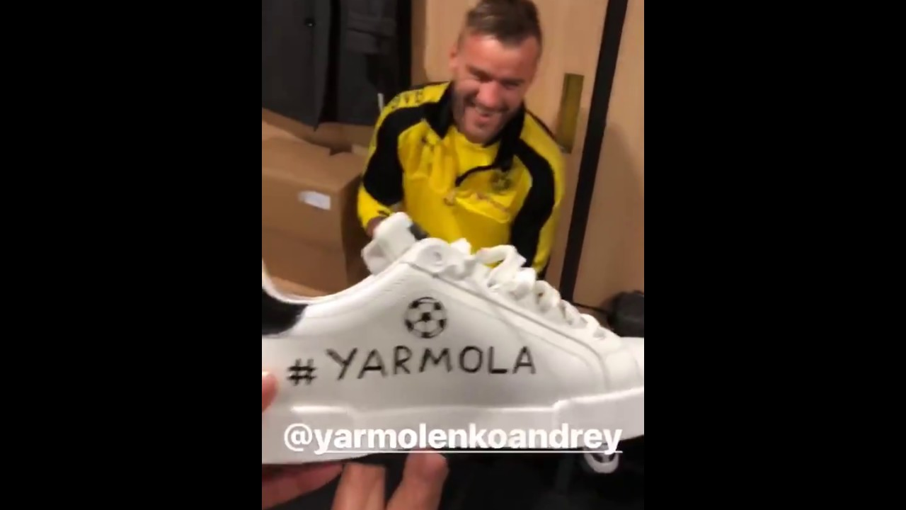 Обамеянг троллит  Ярмоленко 😂 Aubameyang & Yarmolenko «King of Ukraine»