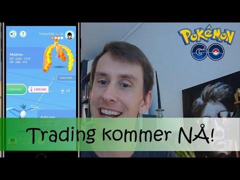 Trading kommer til Pokémon Go! Dette vet vi!| Pokémon Go i Norge