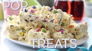 Marshmallow and Popcorn Squares