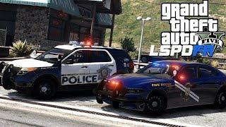 GTA 5 - LSPDFR LIVE! - Ep 105 - Nevada Police (NHP & LVMPD)