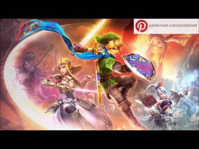 Zelda Hyrule Warriors: Hyrule Field (Twilight Princess) OST music rip
