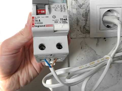 10 mA Residual Current Device (RCD) Test  YouTube