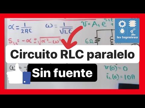 Circuito En Paralelo Ejemplos : Circuito rlc en paralelo ejemplo youtube