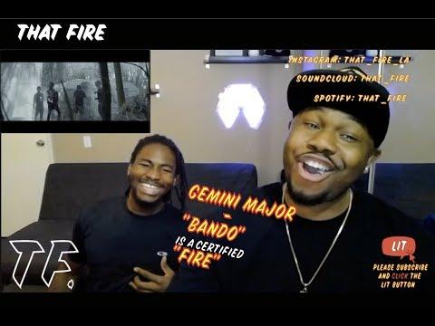Gemini Major - Bando [Feat  Emtee  & Frank Casino] (Official Music Video) (Thatfire Reaction)