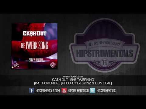 Ca$h Out - She Twerking [Instrumental] (Prod. By DJ Spinz & Dun Deal) + DOWNLOAD LINK