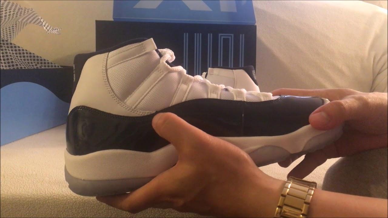 f6450bff5c27 Quick Unboxing Air Jordan 11 Retro Win Like  82 - YouTube