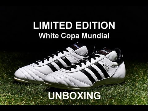 Adidas Copa Mundial White Limited Edition unboxing (ITA)