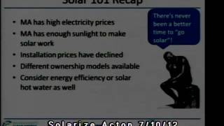Solarize Acton Jul 2012