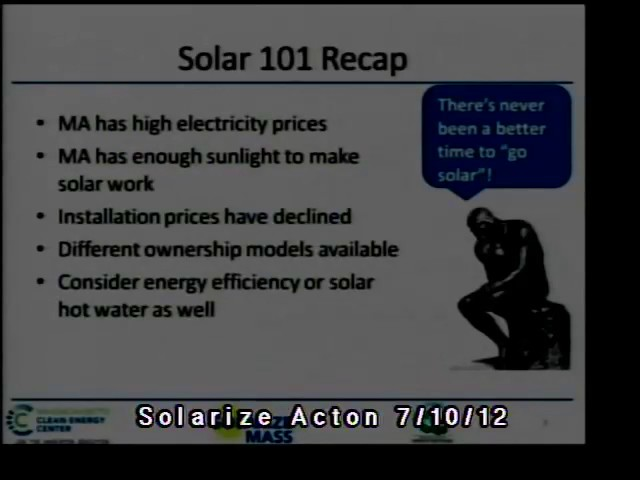 Solarize Acton Jul 2012