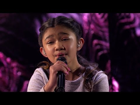 America's Got Talent 2017 Angelica Hale Performance & Comments Semi-Finals S12E21