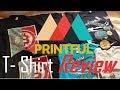 In Depth Printful T- Shirt Review! Part 1