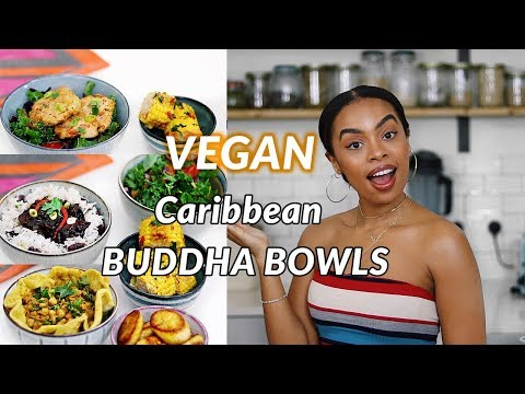 Caribbean Inspired Vegan Buddha Bowls! | VEGAN SALT FISH FRI