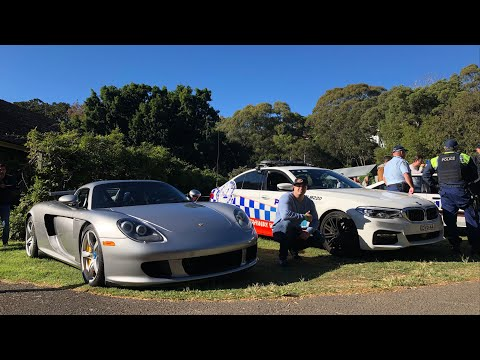 Driving The Porsche Carrera GT V10 To A Car Show In Australia