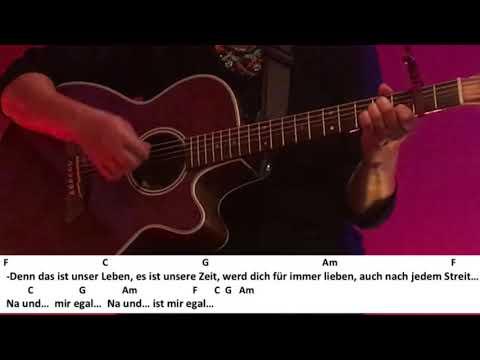 Na und?!-Ben Zucker /Gitarre/Tutorial/Cover/Akkorde/Text/Lyrics