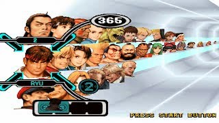 Capcom vs. SNK: Millennium Fight 2000 PRO Opening and All Characters [PSX]