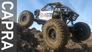 Crawling the Capra - Two RC Trail Buggies on Lava Rock