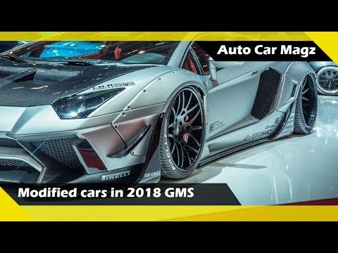 Extreme modified cars in 2018 Geneva Motor Show