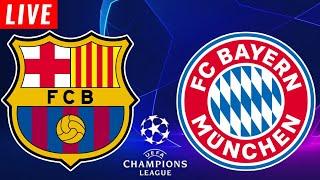 #ucl #championsleague #barca #barcelona #bayern #bayernmunich #football #soccer #uefa this barcelona vs bayern live watchalong and not munich barce...