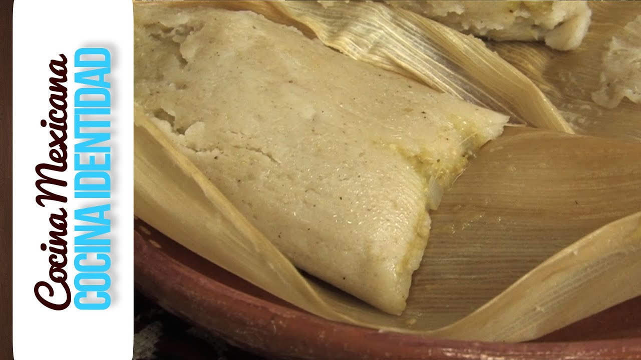 Recetas de Tamales de Chile Cmo hacer Tamales verdes