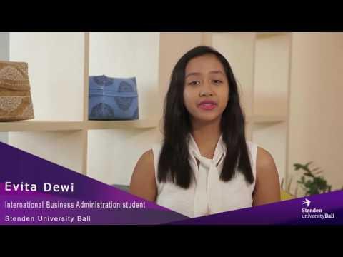 Stenden University Bali - IBA Student Testimonial