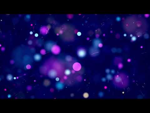 4K Bokeh Particle Background Free VJ Loop - VJ Loops 2020 - Free Motion Background For Edits