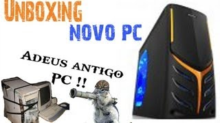 "Unboxing Meu Novo Computador "" T-Gamer -TeraByte e-shop -"""